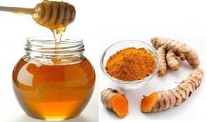 nghe mat ong tri da day 300x177 Điều trị viêm dạ dày với nghệ và mật ong