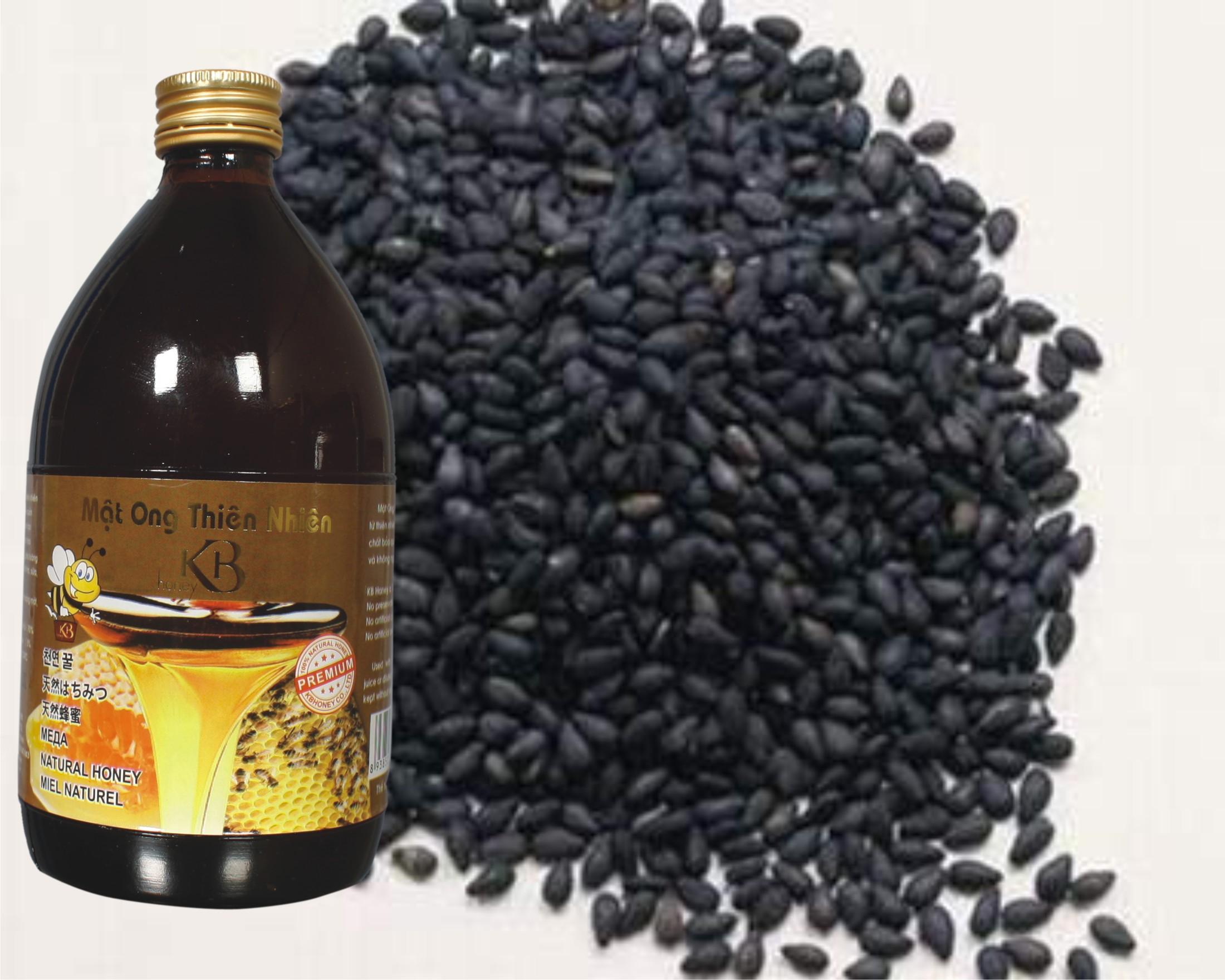 Vừng đen trộn mật ong chữa viêm đại tràng hiệu quả