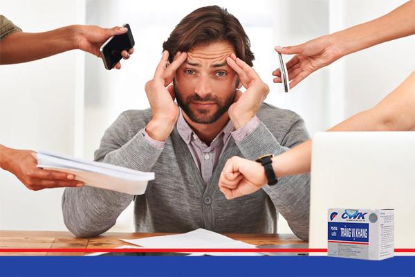 Căng thẳng thường xuyên dẫn đến mắc hội chứng ruột kích thích