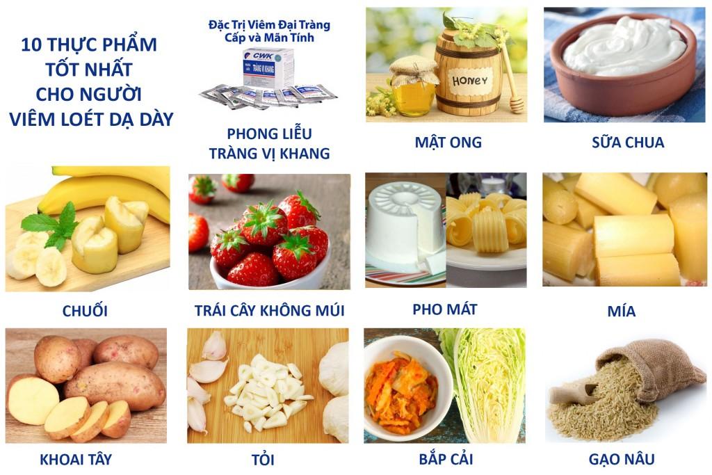 8 1024x683 Viêm loét dạ dày nên ăn gì?