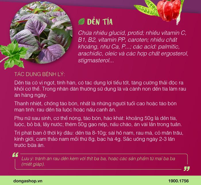 trang vi khang tao bon3 Rau Dền: Vị thuốc quý rẻ tiền nhưng hiệu quả
